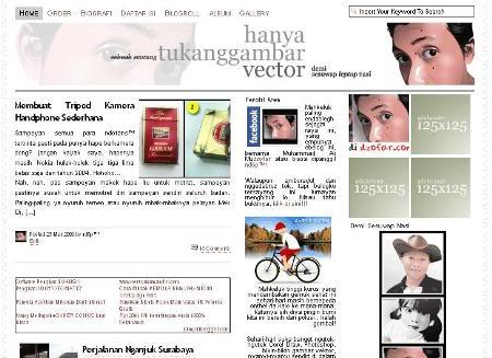 screenshoot dzofar.com baru