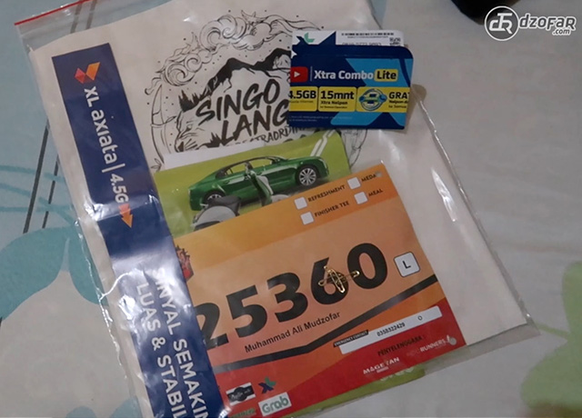 Racepack singolangu