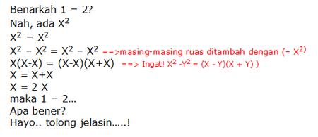 Soal Matematika 1