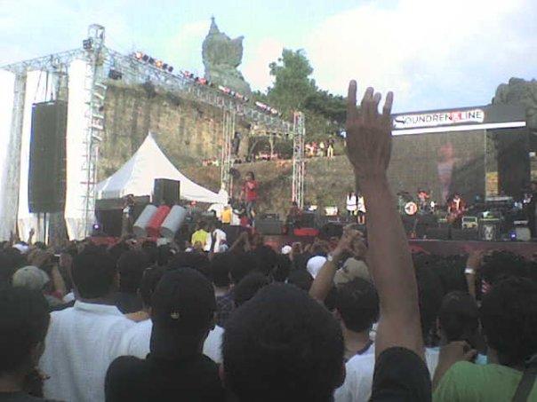 Arie Lasso di Soundrenaline Bali