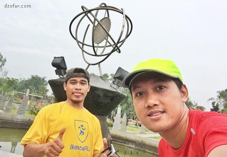 selfie di taman pintar