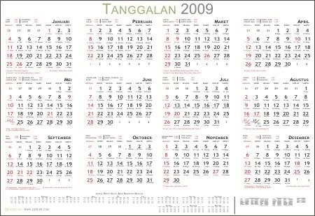 Kalender 2009 by dzofar.com