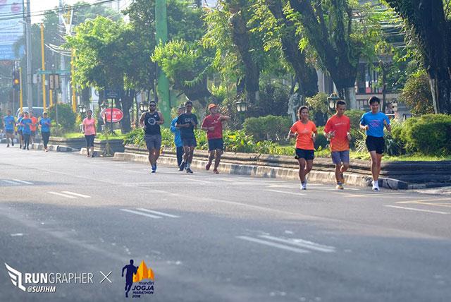 tapering run
