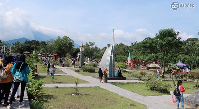 the world landmark merapi park
