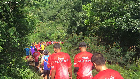 trail run pertama
